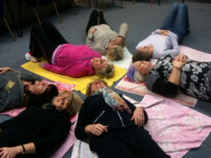 11-2-13 Laughter Meditation at Merrie Maggie's