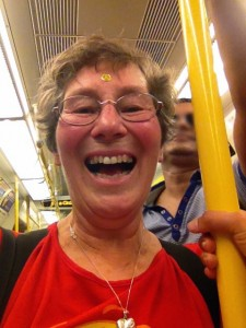 2-8-15 London Laughing Tube Flashmob8-Maggie