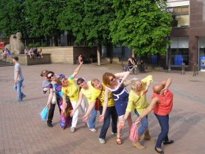 009 Roller-coaster - Laughter Flashmob - Birmingham