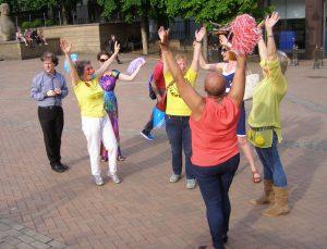 010 Laughter Flashmob Birmingham